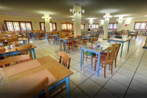 hotel fazenda saint nicolas águas de lindoia vista interna do restaurante