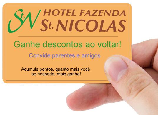 cartão fidelidade saint nicolas, águas de lincoia