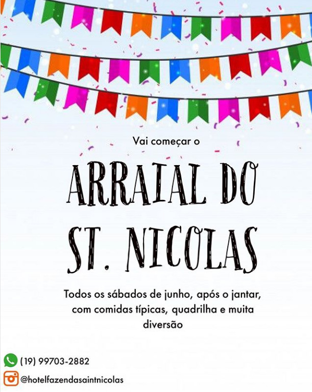 arraial No saint Nicolas 2019