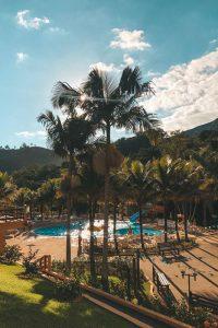 hotel fazenda saint nicolas águas de lindoia, piscinas